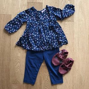 Classic Toddler girl outfit